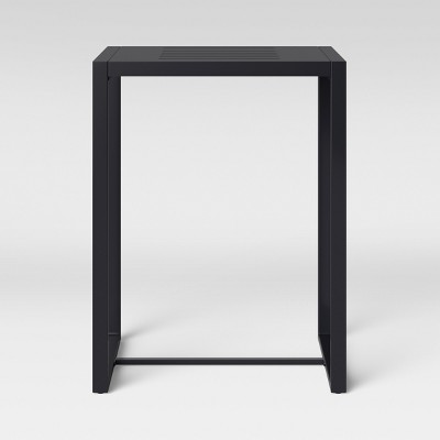 Henning Bar Height Rectangle Patio Table Black - Project 62™