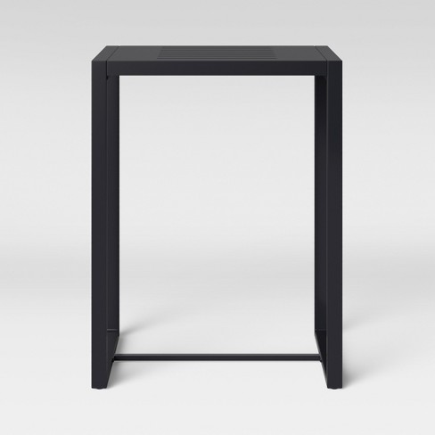 Henning Bar Height Patio Table Black - Project 62™ - image 1 of 3