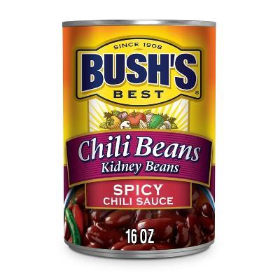 Bush's Kidney Beans in Spicy Chili Sauce - 16oz