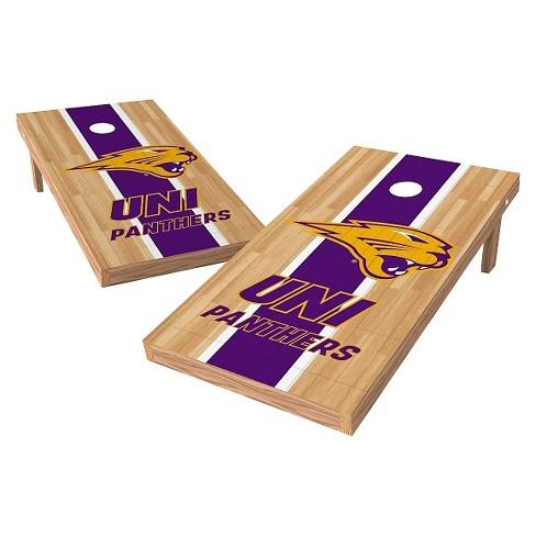 NCAA Wild Sports2' x 4' Heritage Design Authentic Cornhole Set Northern Iowa Panthers - image 1 of 1