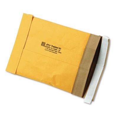 Sealed Air Jiffy Padded Self-Seal Mailer Side Seam #0 6 x 10 Golden Brown 250/Carton 85871