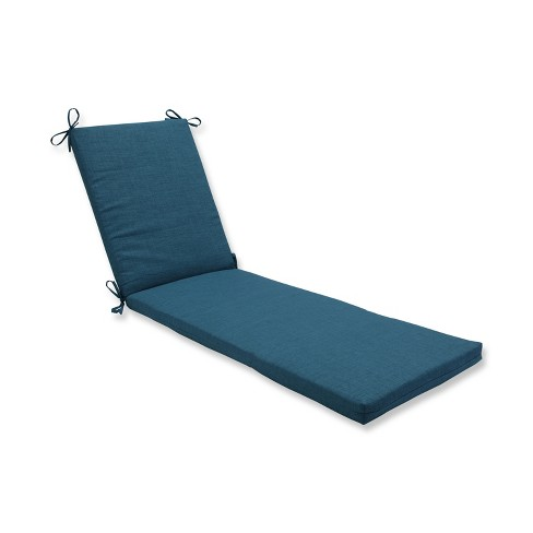 Indoor/Outdoor Rave Teal Green Chaise Lounge Cushion - Pillow Perfect - image 1 of 1