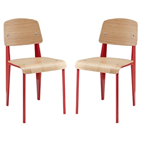 Cabin Dining Side Chair Set of 2 - Modway - image 1 of 4