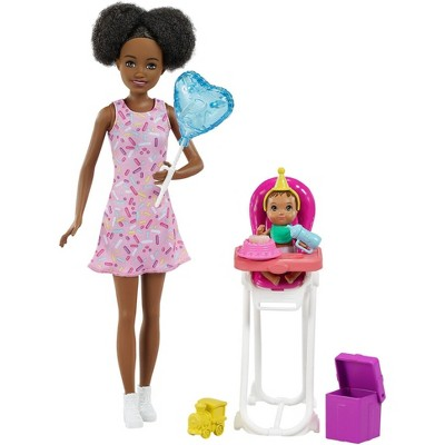 Barbie Skipper Babysitters Inc Dolls and Playset - Black Hair