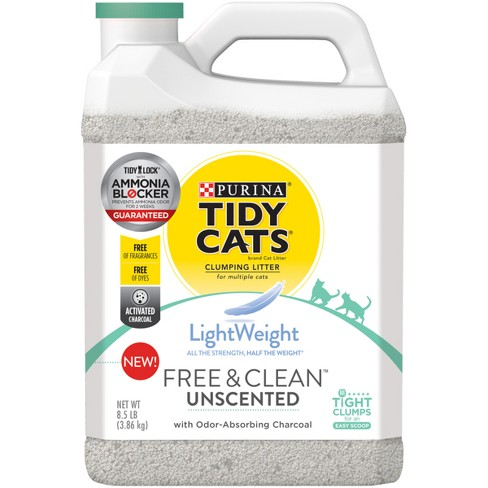 Tidy Cats Free Amp Clean Unscented Lightweight Cat Litter