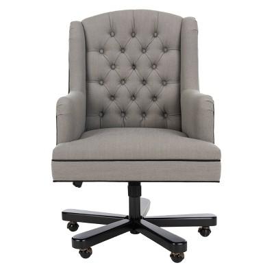 Nichols Desk Chair Gray - Safavieh