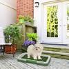 Pet Pal Puppy Artificial Grass Potty Trainer Mat - image 3 of 4