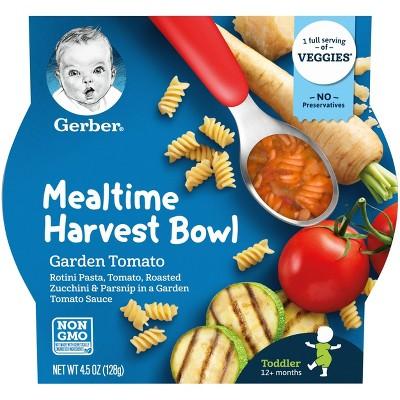 Gerber Mealtime Harvest Bowl Garden Tomato Baby Meals - 4.5oz