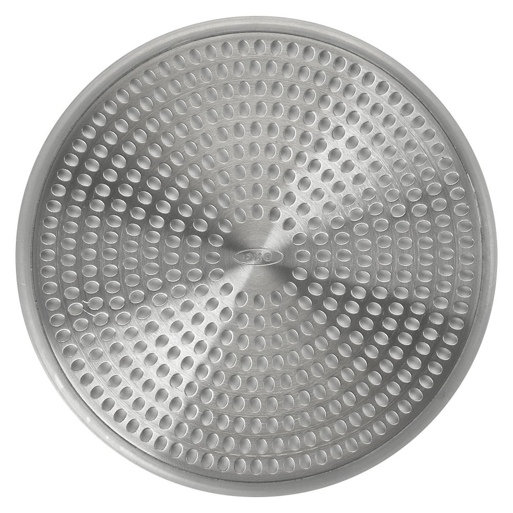 Shower Drain Protector Gray - Oxo, Clear