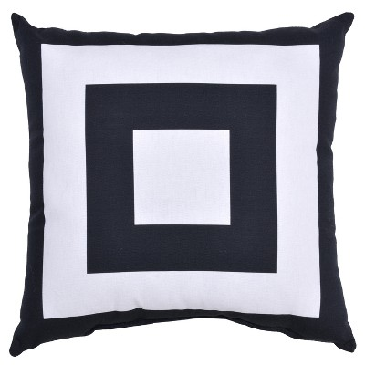 Outdoor Throw Pillow Square - Mitre Stripe - Project 62™