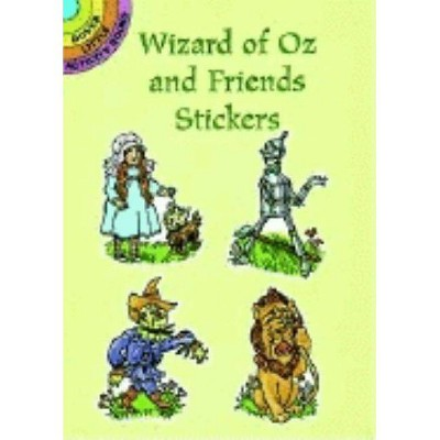 Wizard of Oz and Friends Stickers - (Dover Little Activity Books) by  Pat Stewart (Paperback)