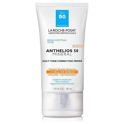 La Roche-Posay Anthelios Tinted Mineral Face Primer with Sunscreen - SPF 50 - 1.35 fl oz