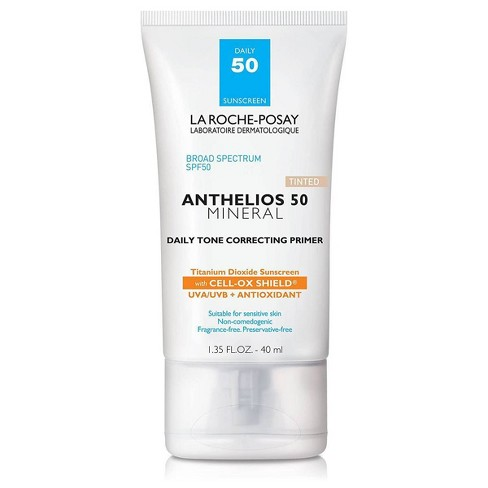 La Roche-Posay Anthelios Tinted Mineral Face Primer with Sunscreen - SPF 50 - 1.35 fl oz - image 1 of 4