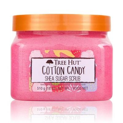 Tree Hut Cotton Candy Shea Sugar Body Scrub - 18oz