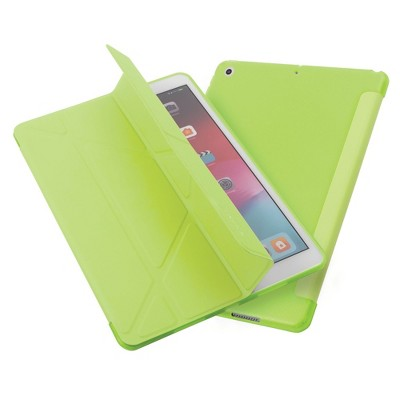 "Insten - Tablet Case for iPad Pro 10.2"" 2019 & 2020, Gen 7 & 8, Multifold Stand, Magnetic Cover Auto Sleep/Wake, Pencil Charging, Green"