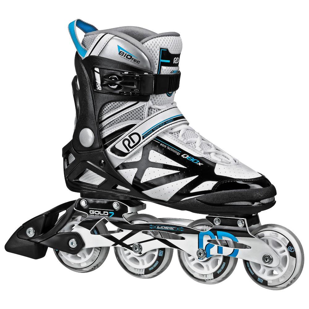 Roller Derby Aerio Q80X Women's Inline Skates Size 05, Black Gray