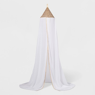 White Sequin Bed Canopy (One Size)- Pillowfort™