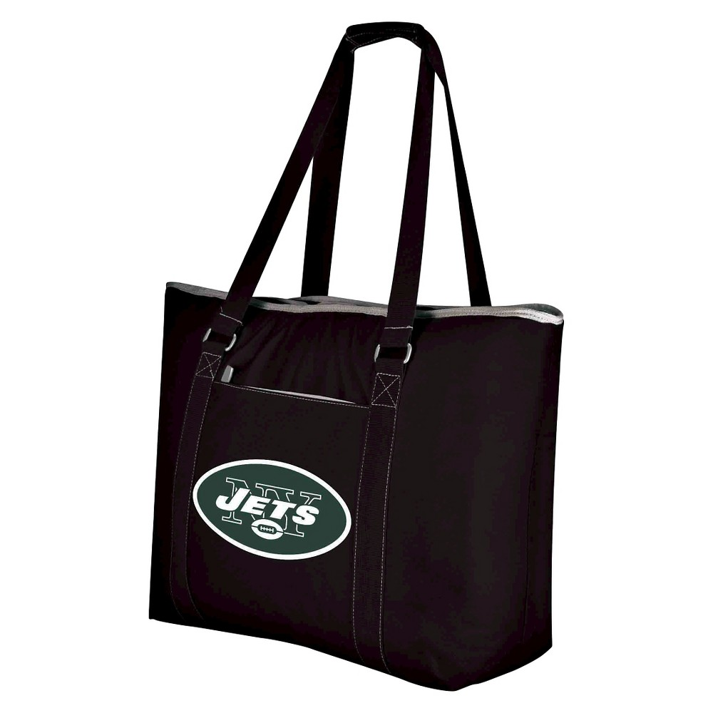 New York Jets - Tahoe Cooler Tote by Picnic Time (Black)