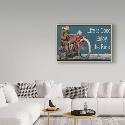 Jean Plout Life Is Good Unframed Wall 16\