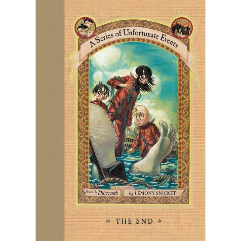 The End ( A Series of Unfortunate Events) (Hardcover) by Lemony Snicket - image 1 of 1