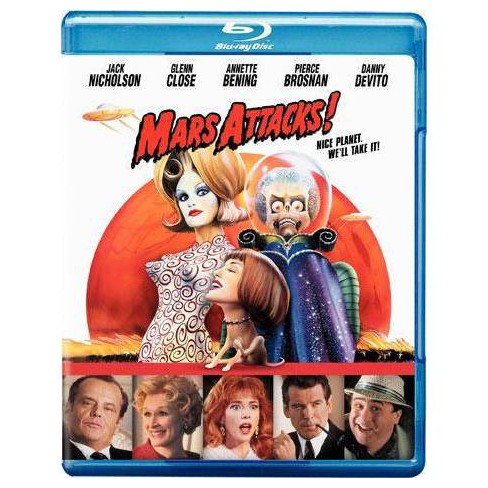 Mars Attacks! (Blu-ray)(2010) - image 1 of 1