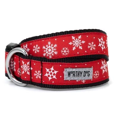 The Worthy Dog Let It Snow Dog Collar