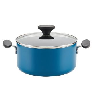 Farberware 4.25qt Reliance Covered Dutch Oven Teal