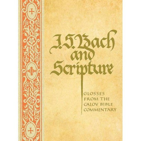 J. S. Bach & Scripture - (Hardcover) - image 1 of 1
