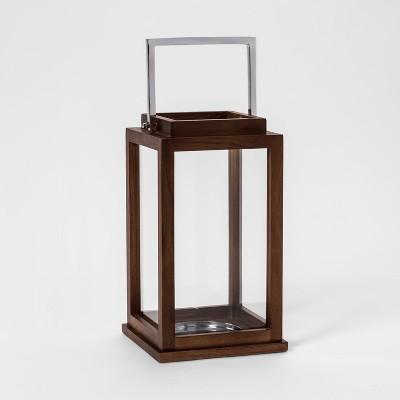 Lantern Candle Holder Small - Silver - Threshold™
