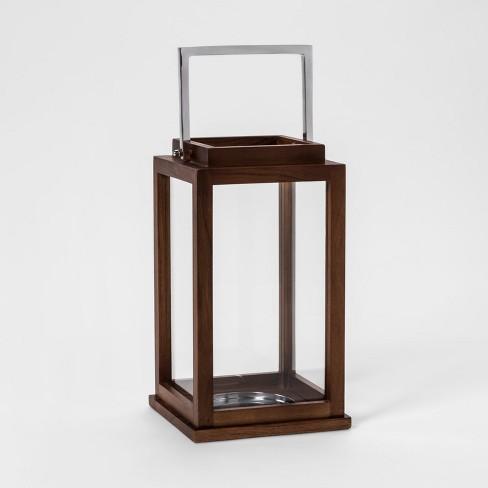 Lantern Candle Holder - Brown - Threshold™ - image 1 of 3