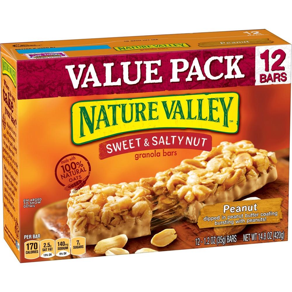 Nature Valley Sweet & Salty Nut Peanut Granola Bars - 1.2oz 12ct