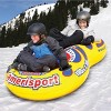 "Sportsstuff Inflatable 71"" Double Amerisport Snow Tube with Handles 