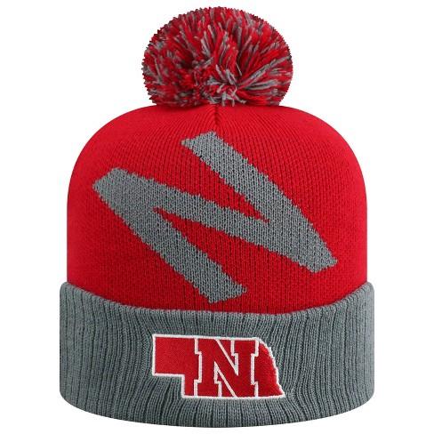46b41739513b1b NCAA Nebraska Cornhuskers Pom Knit Hat : Target