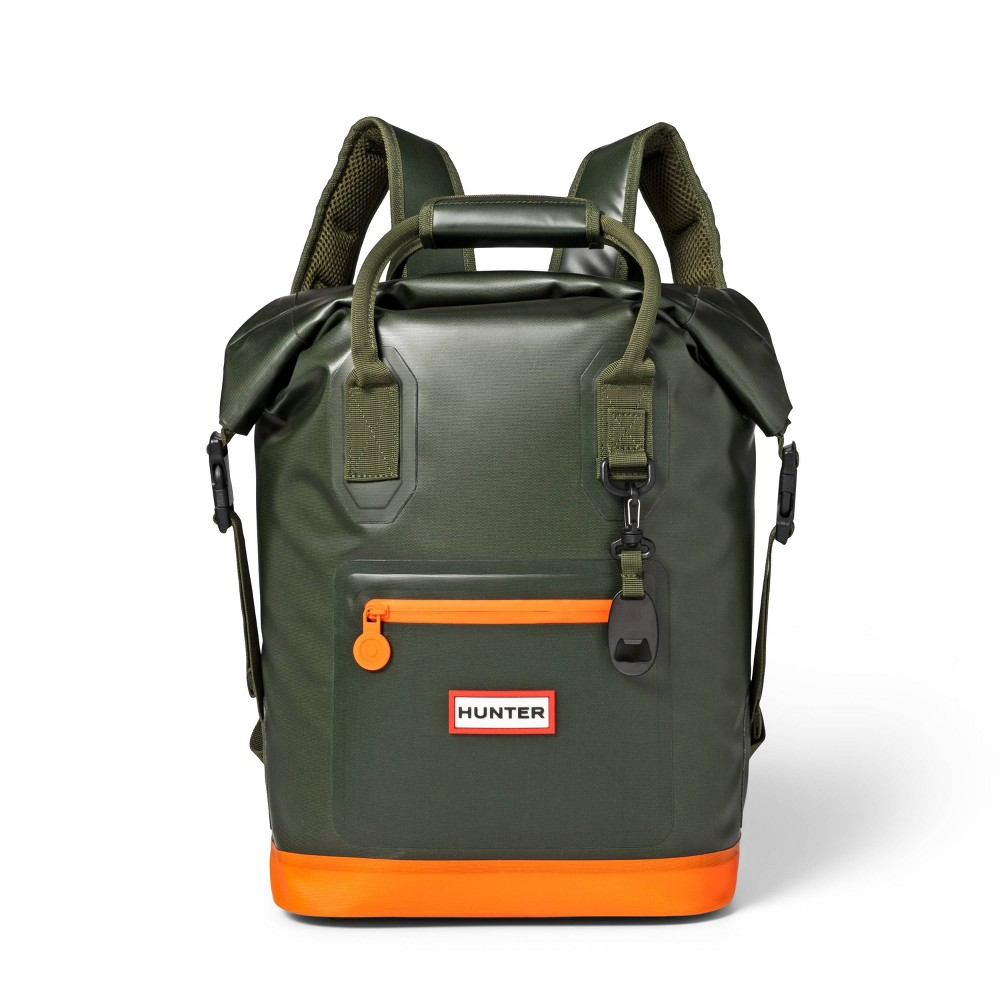 Image of 17L Backpack Cooler Olive/Orange - Hunter for Target, Orange Green