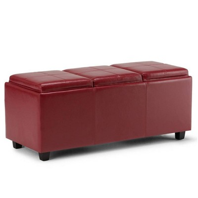Franklin Storage Ottoman - WyndenHall