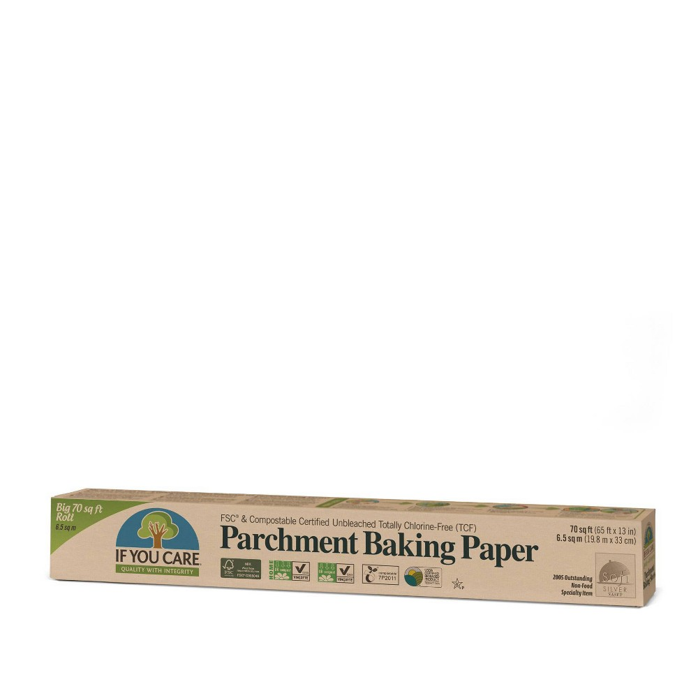 If You Care Unbleached Chlorine Free Parchment Baking Paper 70 Sq Ft