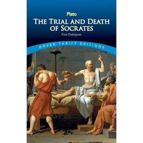 The Trial and Death of Socrates - (Dover Thrift Editions) (Paperback) - image 1 of 1