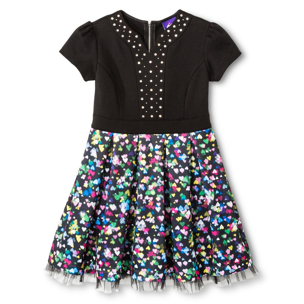 Girls' A Line Dresses Jem & the Holograms - L, Multi-Colored