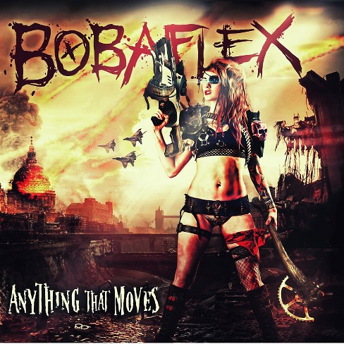 Bobaflex - Anything that moves (CD) - image 1 of 1
