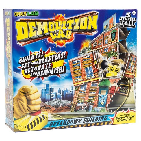 SmartLab Toys Demolition Lab - Breakdown Building - image 1 of 3