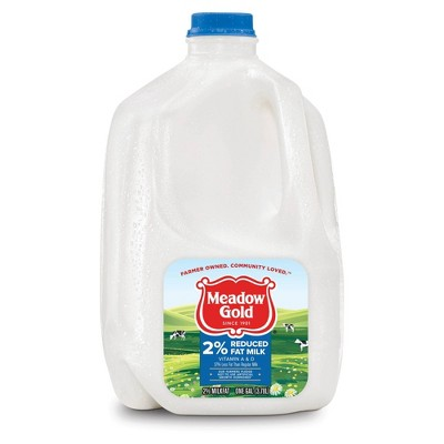 Meadow Gold 2% Milk - 1gal