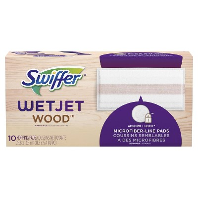 Swiffer WetJet Wood Mopping Pad Refill - 10ct