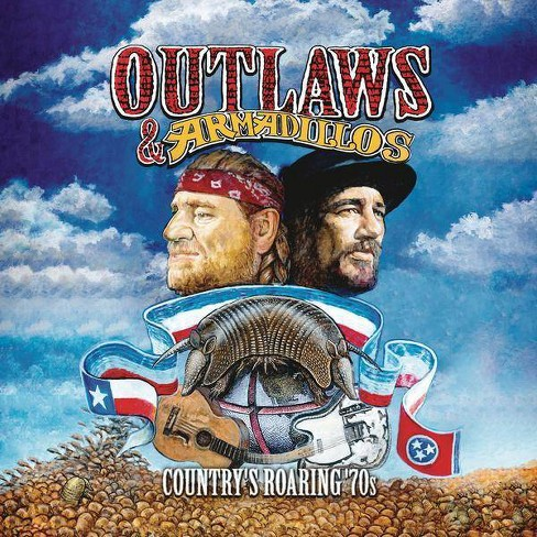 Various - Outlaws & Armadillos: Country's Roaring '70s (Vinyl) - image 1 of 1