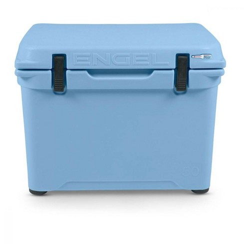 Engel Coolers 48 Quart 60 Can High Performance Roto Molded Cooler, Arctic Blue - image 1 of 4