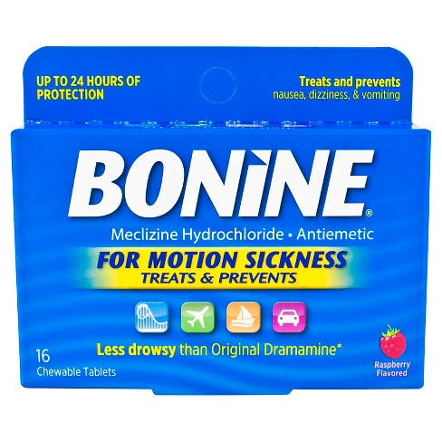 Bonine Motion Sickness Chewable Tablets - 16ct - image 1 of 4