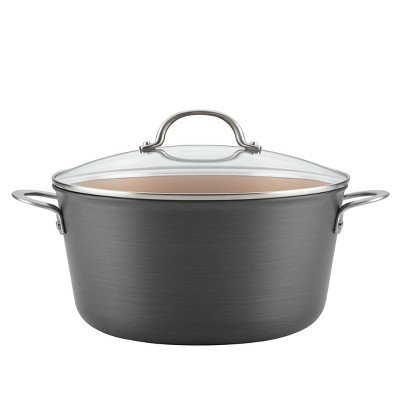 Ayesha Curry™ 10qt Home Collection Hard Anodized Aluminum Stockpot