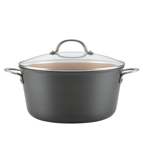 Ayesha Curry™ 10qt Home Collection Hard Anodized Aluminum Stockpot - image 1 of 5