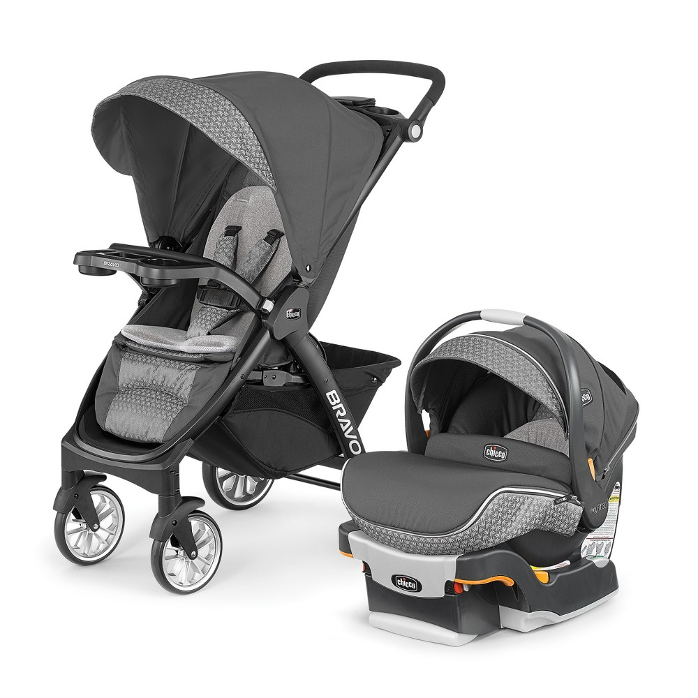 Image of Chicco Bravo LE Travel System - Silhouette