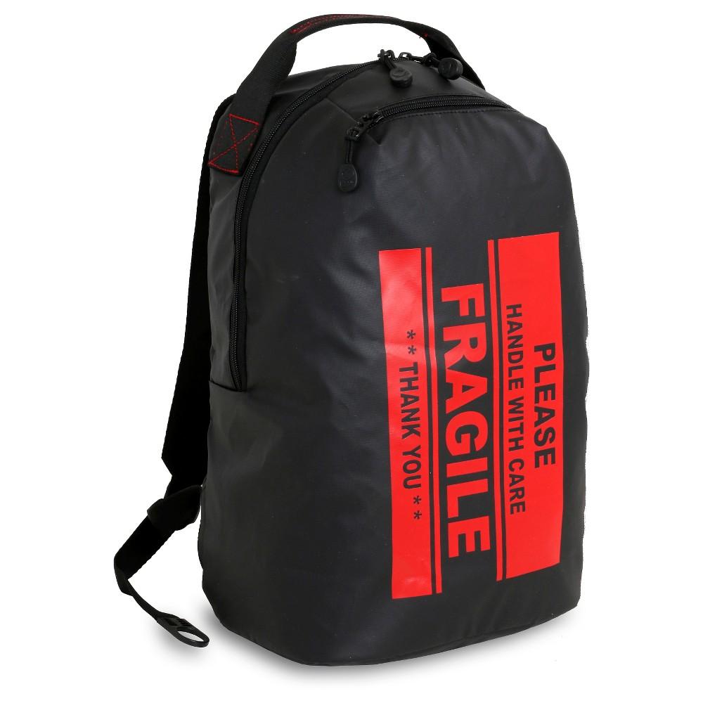 """Image of """"J World 16.5"""""""" Funpack Backpack - Fragile, Black"""""""