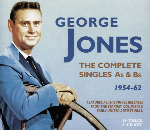 George Jones - Complete Starday & Mercury Singles:54 (CD) - image 1 of 1